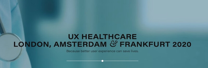 UX Healthcare London 2020