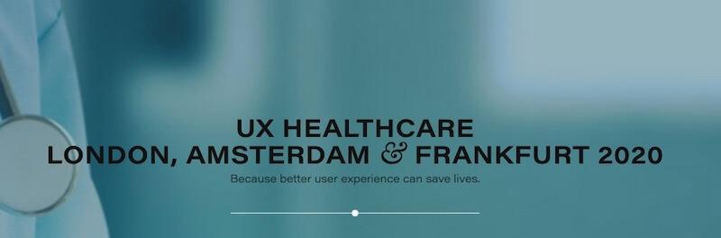 UX Healthcare London 2020