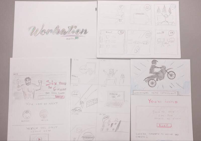 sketching excercises
