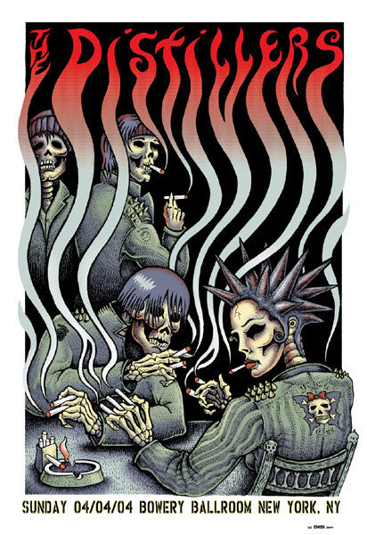 The Distillers by Emek