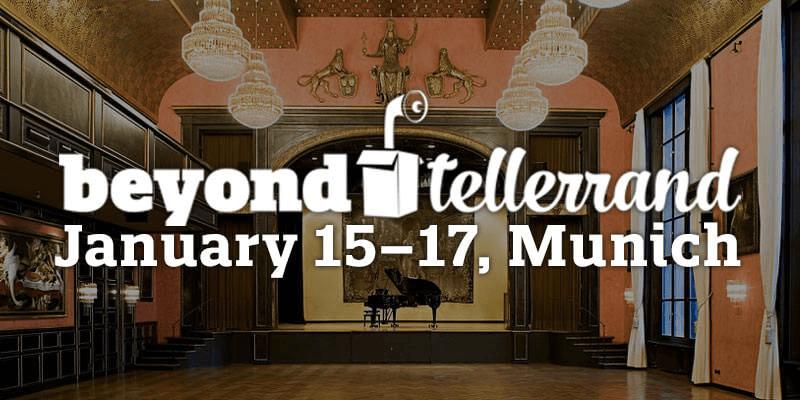 beyond tellerrand // MUNICH 2018