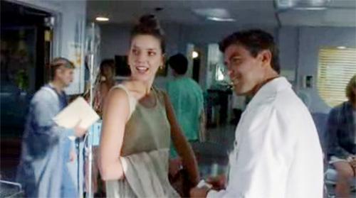 Screenshot from 1994 episode of ER