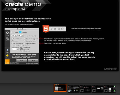 Create Demo (view demo 3)
