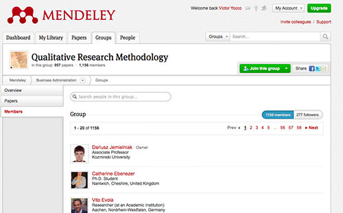 Mendeley puts the social in social psychology journals