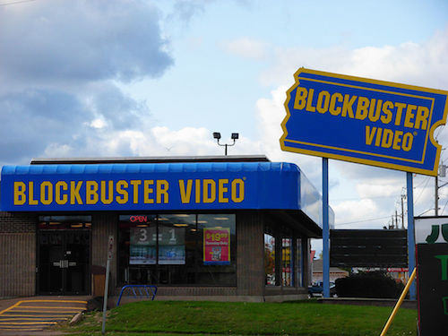 Blockbuster: a lot of stores, a lot of employees, very little innovation