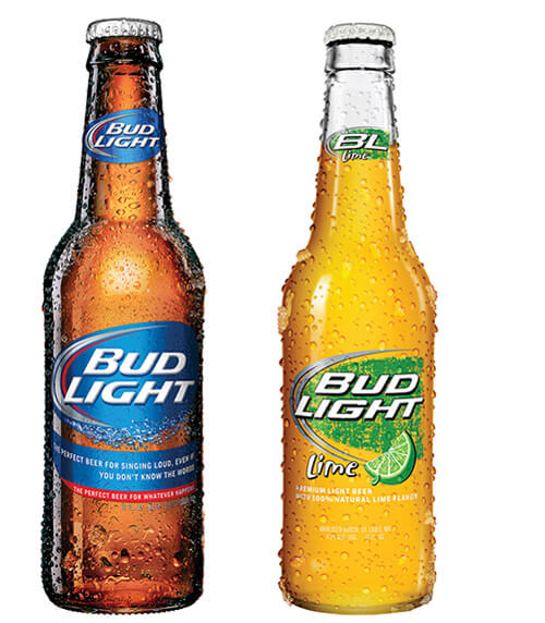 Bud Light and Bud Light Lime