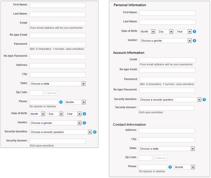 Designing Efficient Web Forms: On Structure, Inputs, Labels And Actions — Smashing Magazine