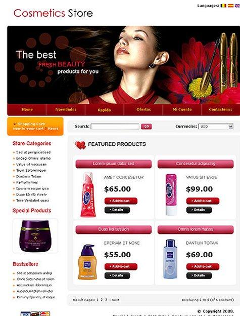 ecommerce templates free