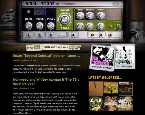 Retro and Vintage Designs - Small Stone Recordings