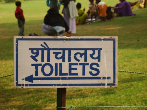 Wayfinding and Typographic Signs - toilets