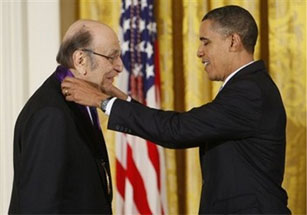 Milton Glaser Receives the National Medal of Arts