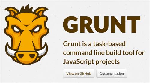 Grunt.js: Task-Based Command Line Tool