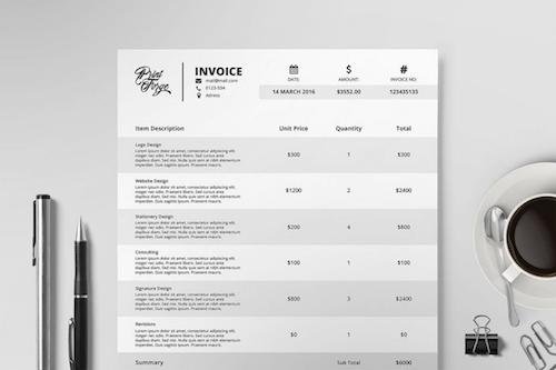Invoice Template I