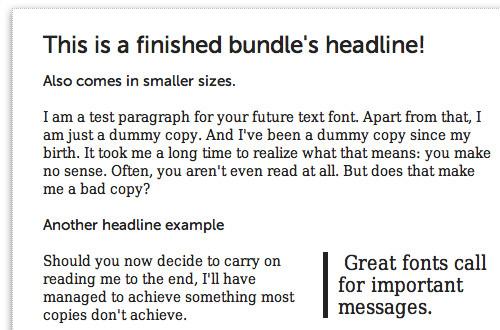 Awesome Fontstacks