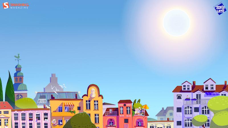 La chaleur de l'été