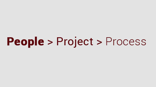 People > Project > Process