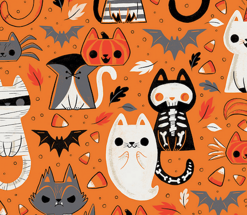 'Cats of Halloween' by Caley Hicks