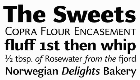 Professional Typefaces - Celeste Sans OT