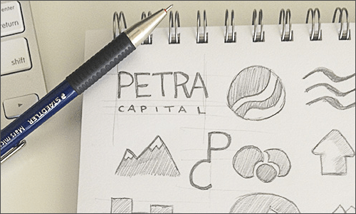 Petra Capital: A systematic approach to logo design
