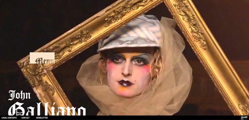 John Galliano in Background Video Showcase