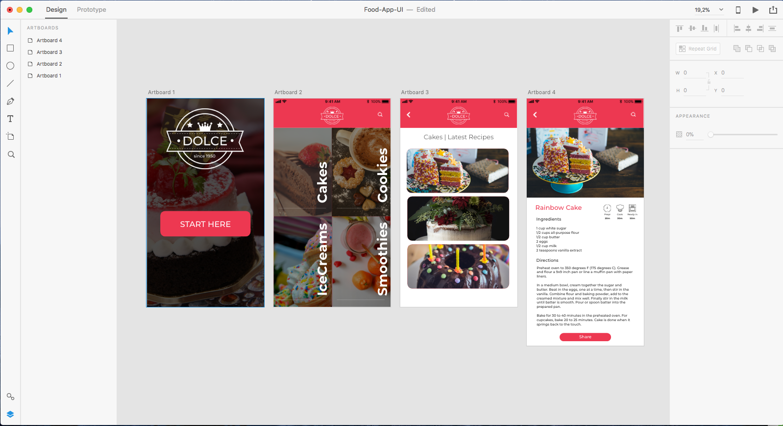 Prototyping An Apps Design From Photoshop To Adobe Xd Smashing