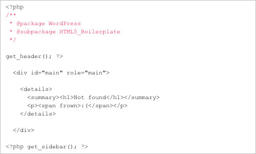 zencoder/html5-boilerplate-for-wordpress