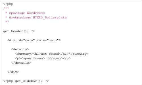 zencoder/html5-boilerplate-for-wordpress