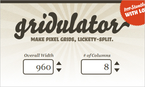 Gridulator: Make pixel grids, lickety-split
