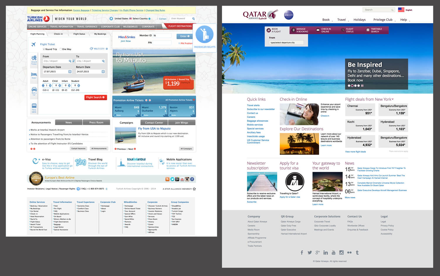 The State Of Airline Websites 2015