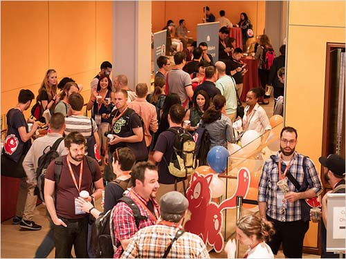 An incredible amount of sharing, learning and networking can happen at a conference.