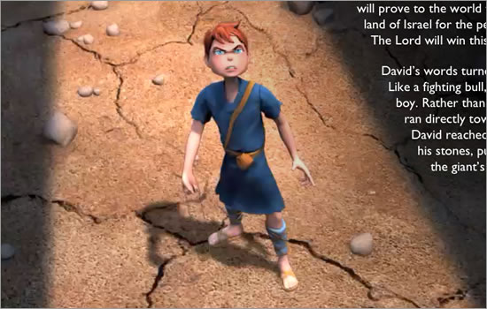 David and Goliath App