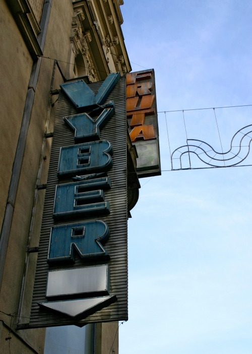Wayfinding and Typographic Signs - vintage-store-signs