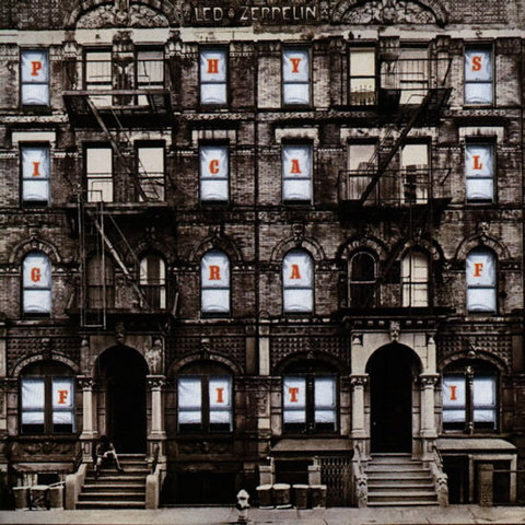Showcase of Beautiful Album and CD covers- Led Zeppelin - Physical Graffiti