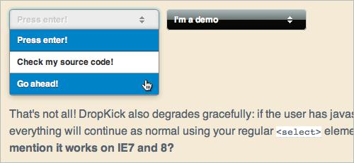 DropKick.js