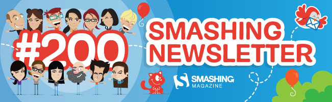 Celebrating Smashing Newsletter #200: The Things We Learned Along The Way