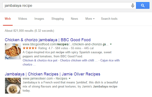 Rich Snippets, a great opportunity to stand out in organic search