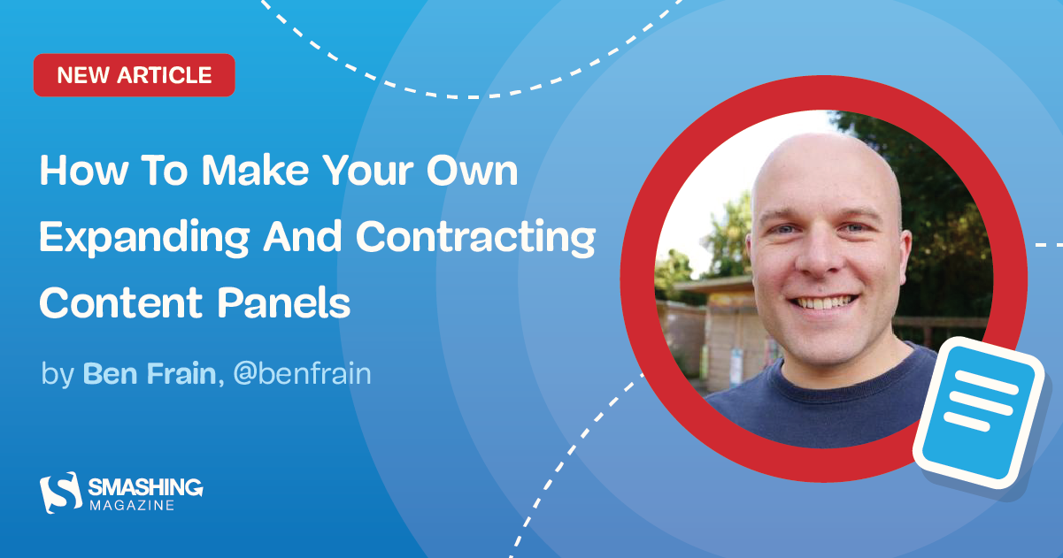 Make Your Own Expanding And Contracting Content Panels