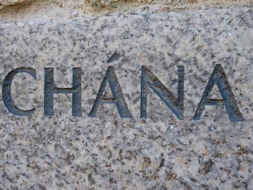 Carved Names