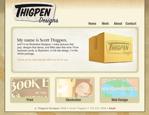 Retro and Vintage Designs - Thigpen Designs - 770.527.3958