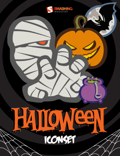 Halloween Icon Set (22 PNG Icons, 32×32px – 512×512px)