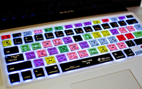 Keyboard Shortcut Skins for Macs