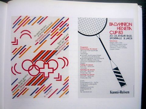 Swiss Graphic Design - Swiss Sports Posters
