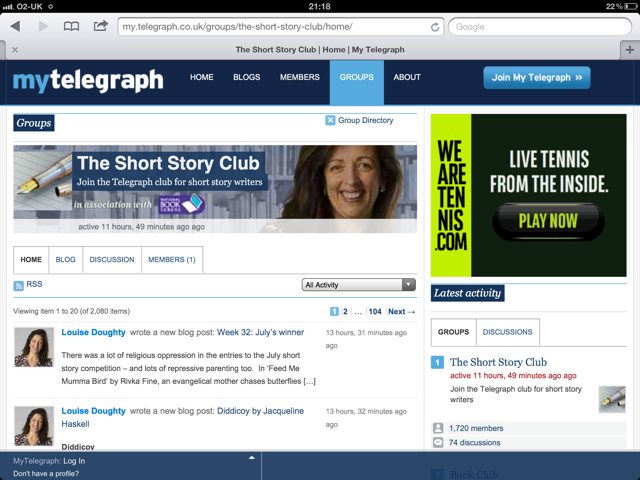 Telegraphs Short Story Group
