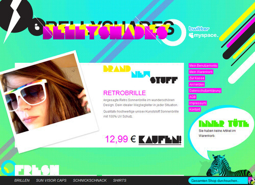 German Web Design - bellyshades