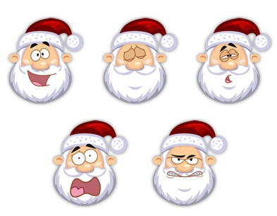 Free High Quality Icon Sets - Santa Claus Icons