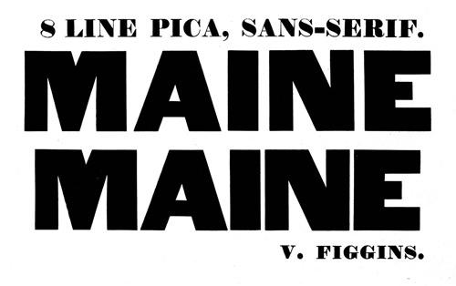 Figgins Sans Serif