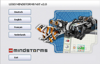 LEGO Mindstorms NXT Software allows users to choose their language at the moment of installation