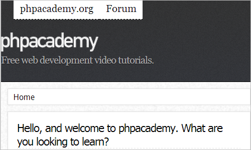 phpacademy | Free Video Tutorials | PHP, MySQL, CSS, jQuery Tutorials