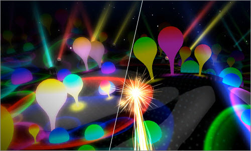 Music video 'Lights': the latest WebGL sensation!