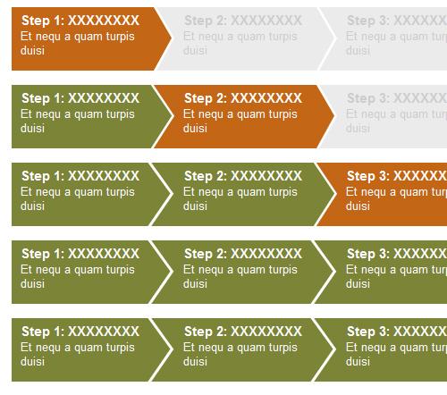 CSS Step Menu